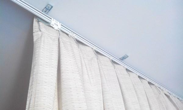Camera Мастер на час - штора по потолку разделяющая комнату
