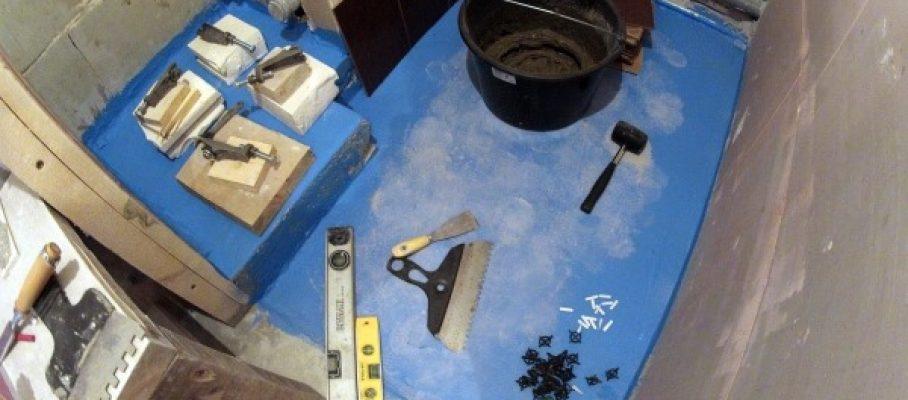 Муж на час укладка плитки в туалете