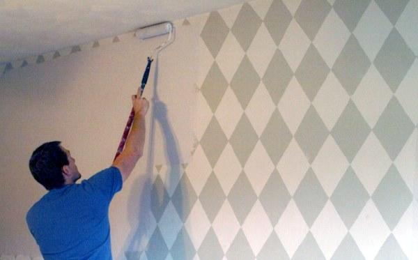 Мастер на час - подготовка стен к покраске и декорированию