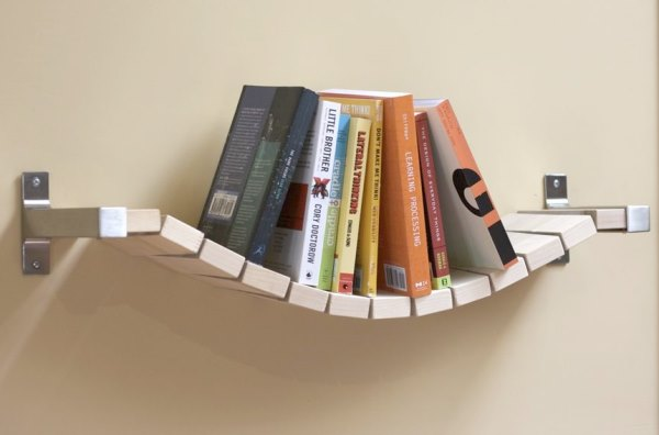 Мастер на час - повесить полку для книг