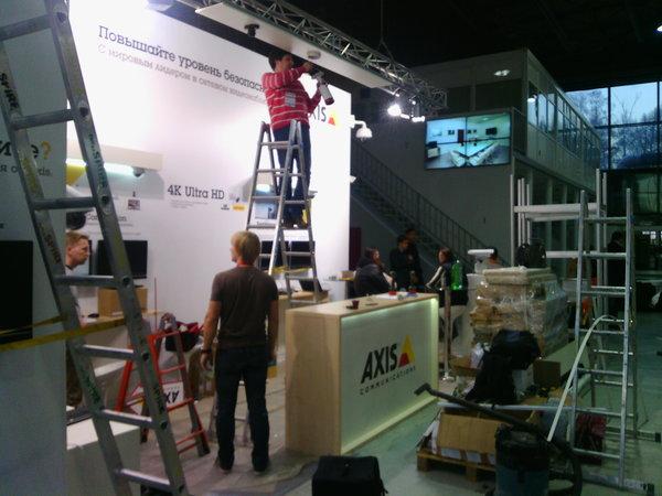 Мастер на час Сокольники - подготовка к выставке All-over-IP Expo 2014